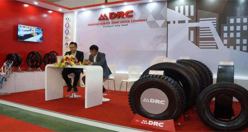 vietnam trade show of drc tire
