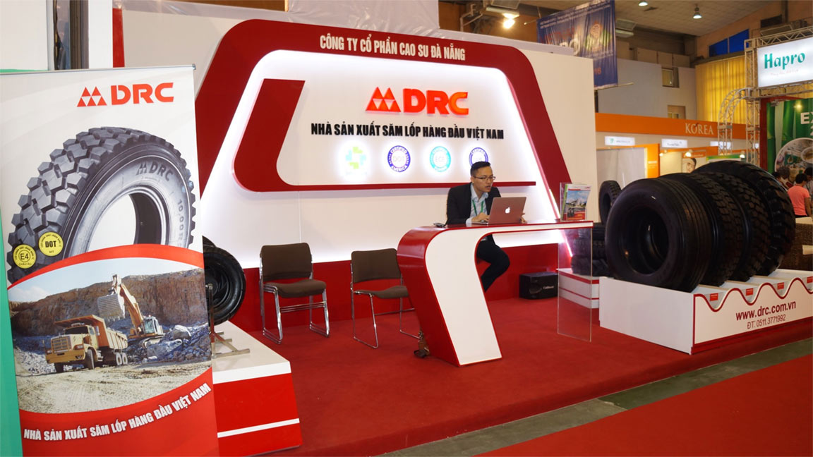 drc tire exhibition in vietnam tire trade