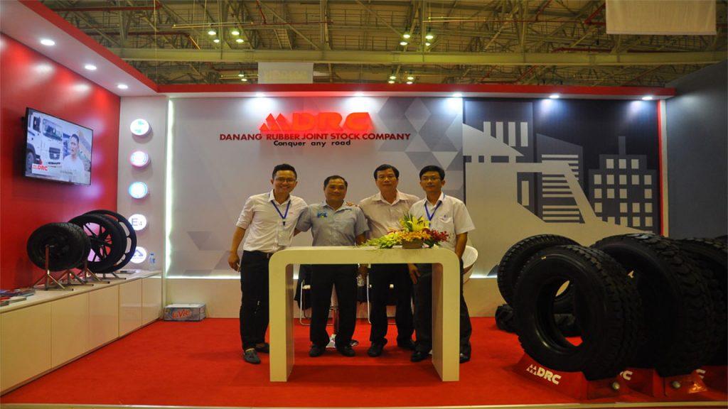 Drc tire at expo asia fair
