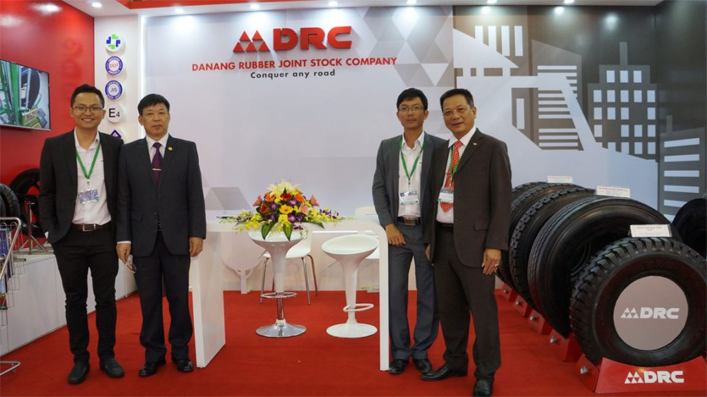 DRC tire in Latin American & Caribbean Tyre Expo