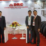 drc tire is the only one tire in vietnam joint Tyrexpo Asian exhibition